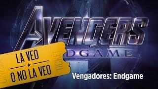 ¡La espera terminó! Avengers: Endgame llega al cine ve la reseña de La Veo o No La Veo