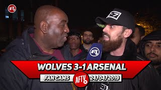 Wolves 3-1 Arsenal | Ozil Has No Heart, Determination Or Fight! (Turkish Rant)