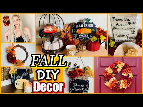 FALL Dollar Tree DIY Decor