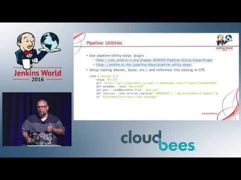 Jenkins World 2016 - Pipelining DevOps with Jenkins and AWS