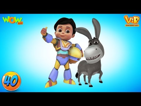Vir: The Robot Boy  Compilation 40  As seen on Hungama TV