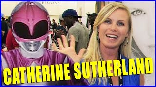 Catherine Sutherland POWER RANGERS Interview - Power Morphicon 2014