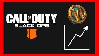 Call of Duty Black Ops 4 im Blizzard Launcher - WoW Marke explodiert im Preis!