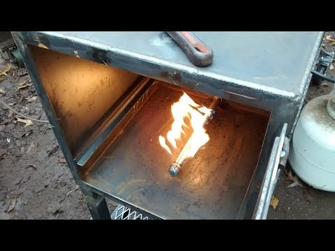 How to build a log lighter for bbq pits