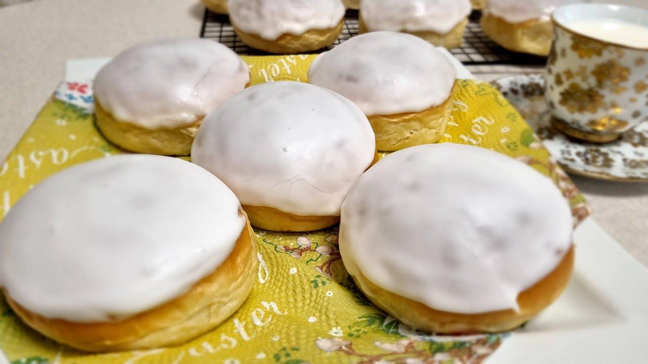 Булочки с помадкой, до чего же они вкусные.../Fondant buns