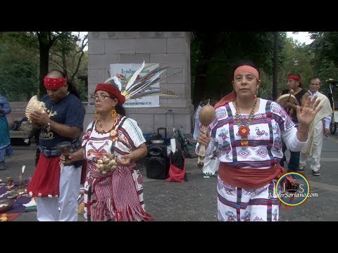 JS: Indigenous community in NYC: Remove Christopher Columbus statue from Columbus Circle.