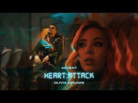 Смотреть клип Akcent X Olivia Addams - Heart Attack