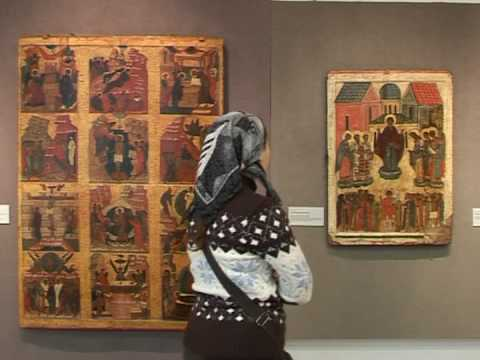 Rare Russian icons on display in Moscow