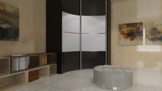 Радиусные шкафы-купе(Недорогие радиусные шкафы-купе-оптимальное решение для вашей квартиры-дома-дачи., 2016-09-19T19:39:20.000Z)