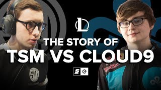 The Story of TSM vs. Cloud9 (LoL)