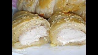 Куриное Филе в Слоеном Тесте/chicken fillet in puff pastry