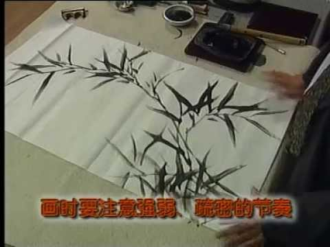 How to Paint Bamboo Chinese Style Pt 2a