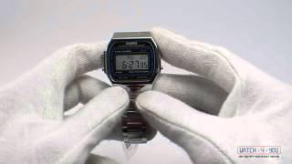 Обзор мужских часов Casio A164WA-1QYEF