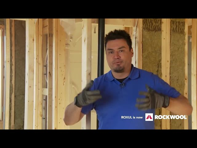 Insulate and Soundproof an Interior Wall or Room with ROCKWOOL