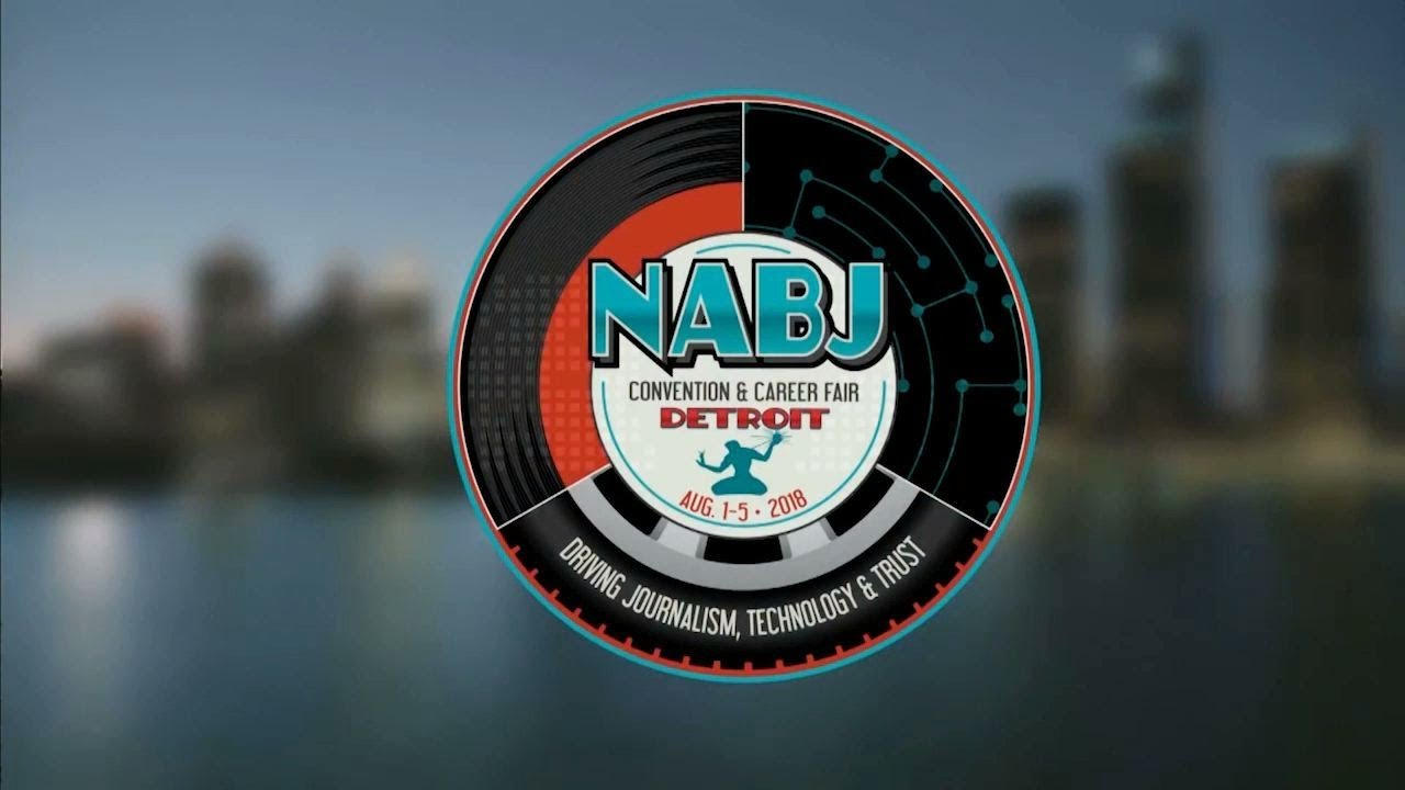 Image result for NABJ logo Detroit convention