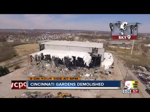 Cincinnati gardens demolished