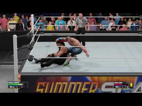 WWE 2K17 Roman