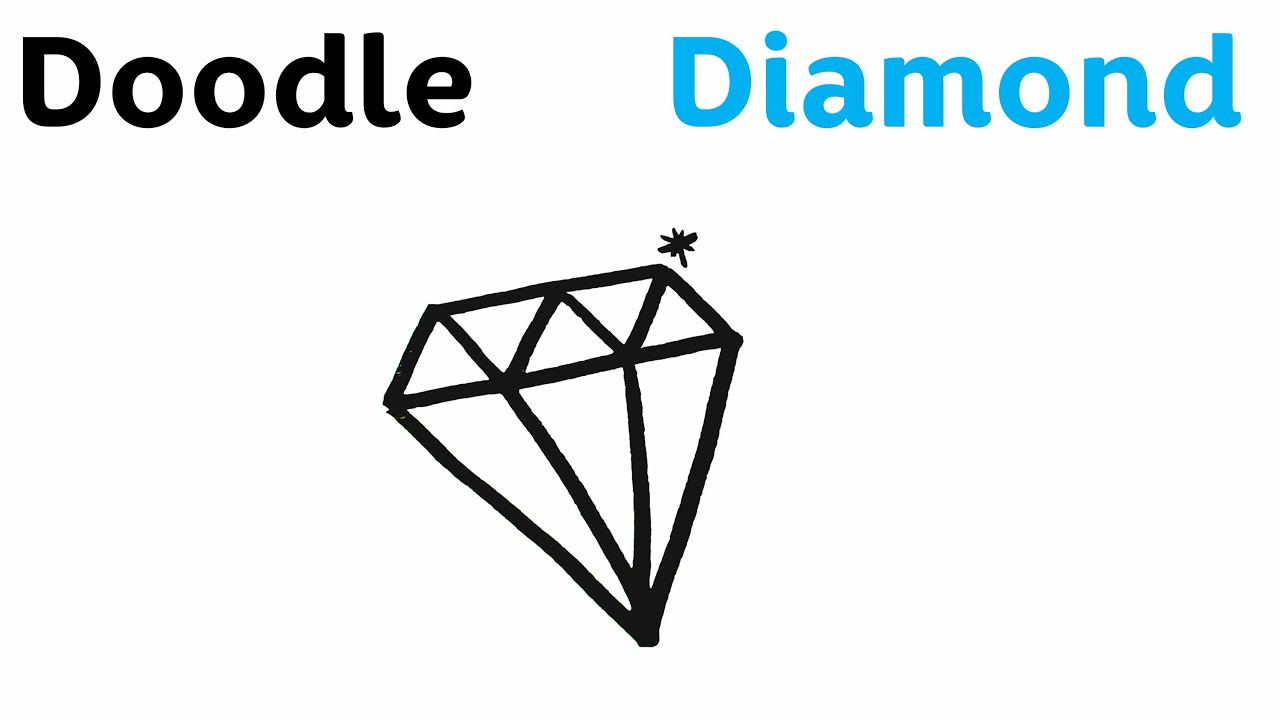 diamond and doodles by pinterest pin cute me doodle easy