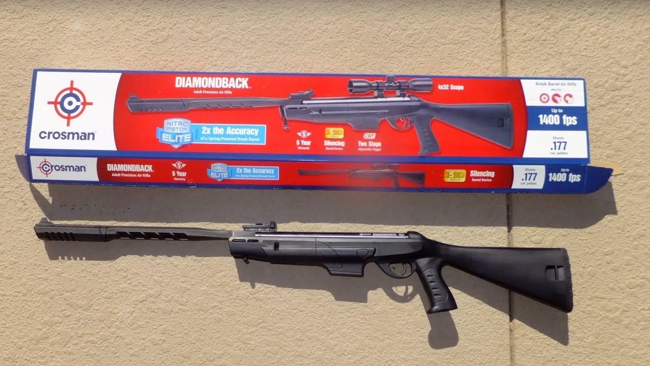 Crossman Diamonback Nitro Piston Elite Air Rifle