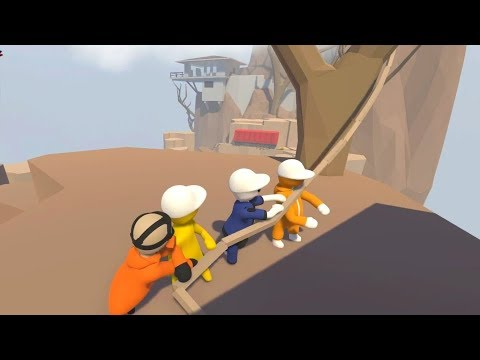 THE GREATEST ROPE SWING EVER! - HUMAN FALL FLAT