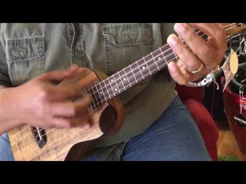 Kanile'a KBSP tenor ukulele at Penny Lane Emporium
