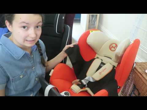 Car Seat Review On Cybex Sirona, Joie Stages, Recaro Young Hero And Halfords Essentials!