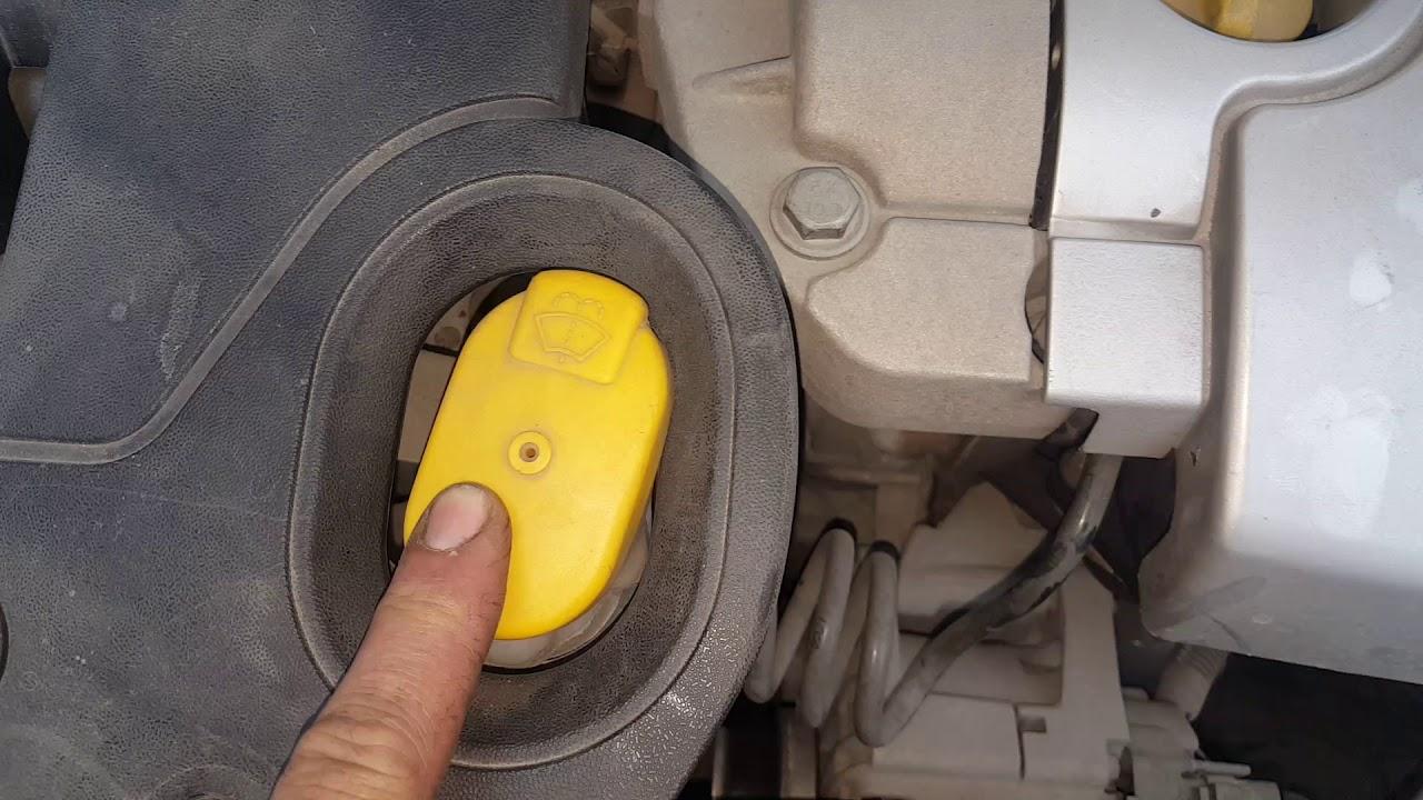 Megane 2 1.6 benzinli motor bölümü tanıtımı