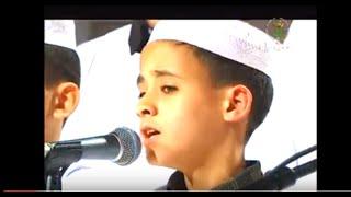 يا نبي سلام عليك ♥ بصوت طفل رائع جداً سيذهلكم ان شاء الله