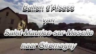Ballon d'Alsace van-Saint-Maurice-sur-Moselle naar Giromagny Honda Varadero XL 1000 (2017)