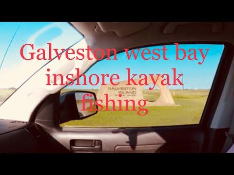 Galveston Texas  West Bay Inshore Kayak Fishing Saltwater: Redfish , Black drum, Sheepshead