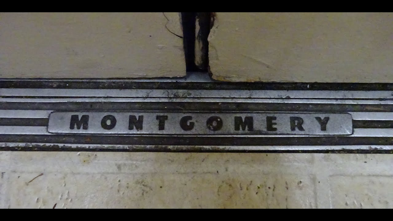 Epic motor awesome vintage montgomery g p hydraulic for Garage ad colleville montgomery