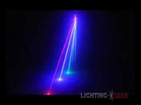 Laser Stage Lighting System - 6 Ports- 4in1 Effects