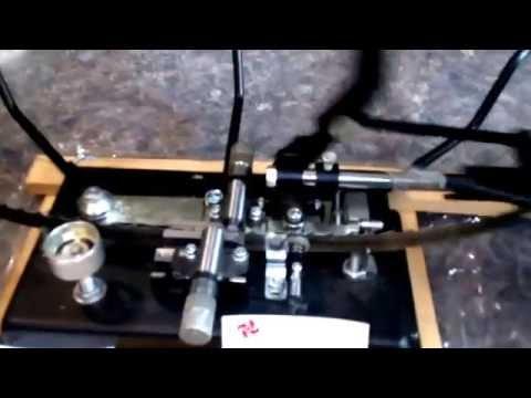 Разводной станок для ленточных пил двухсторонний, полуавтомат. www.пилорама1.рф