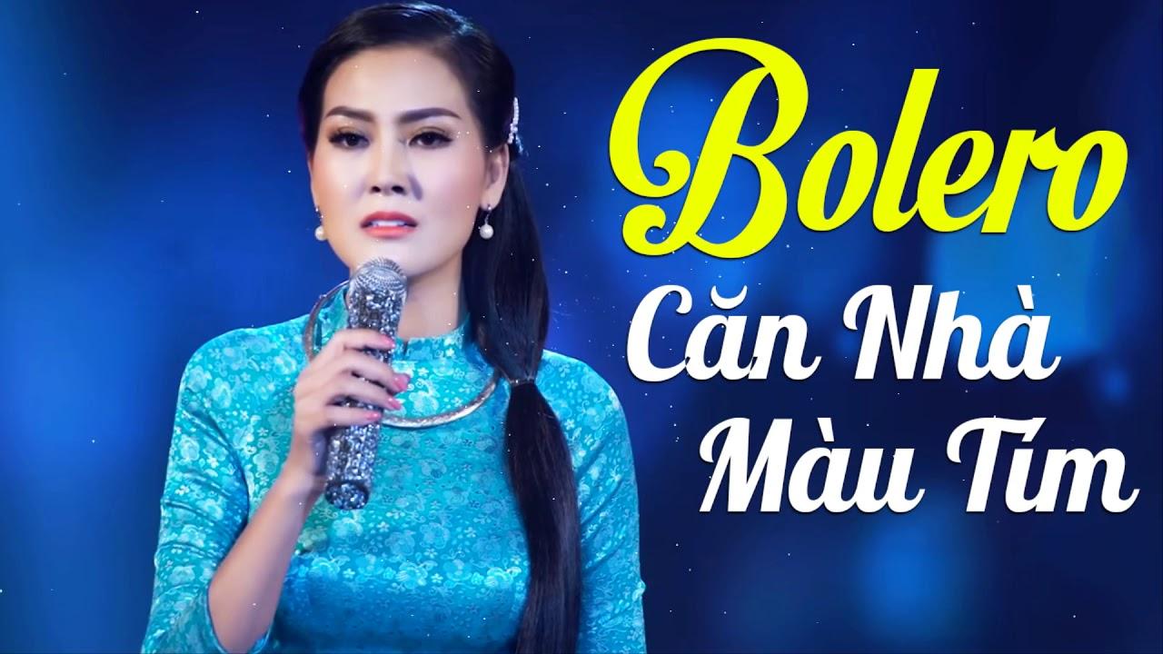 Căn Nhà Màu Tím, Nếu Anh Đừng Hẹn - 33 Bài Nhạc Vàng Bolero Hải Ngoại Hay Nhất 2020 Hoa Hậu Kim Thoa