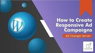 خلق ونشر لافتات و إعلانات الفيديو باستخدام للتكيف خادم الإعلانية وورد البرنامج المساعد