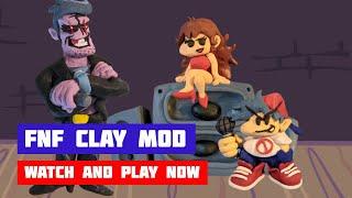 Friday Night Funkin' Clay Mod | FNF Skin Mod | Web Browser Online Port