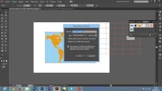 Crear Mapa Mundi en illustrator