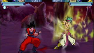 Dragon Ball Z Shin Budokai 2: Another Road SS1 Goku vs LS Broly