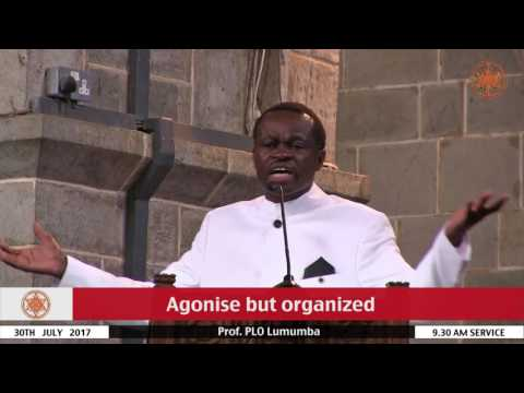 Prof PLO Lumumba On Political Leadership - Our Christian Responsibility