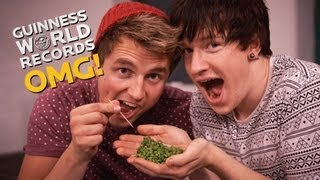 Eating Peas with Toothpicks! // Record Slam (Ep23)
