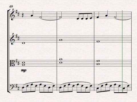 Beethovens 5 Secrets for string quartet