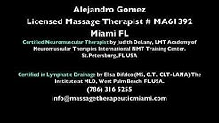CHAIR MASSAGE Miami- Neck, Back, and more