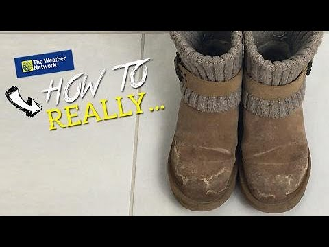 How To Really Clean Salt Stains Off Boots Mats And Clothes Simple Method You