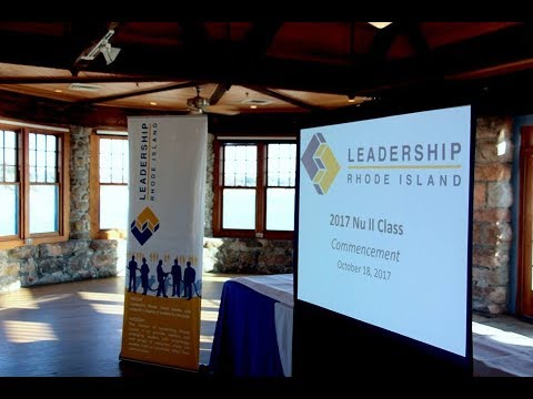"Leadership Rhode Island Class of 2017 - NUII - ""We"" are the Change!"