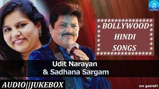 Best of Udit Narayan & Sadhna Sargam Bollywood Hindi Songs Jukebox Songs
