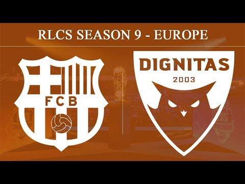FCB vs DIG | FC Barcelona vs Dignitas | RLCS Season 9 - Europe (8th Mar 2020)