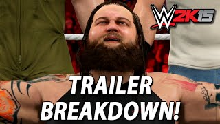 WWE 2K15 Trailer Breakdown: Rusev, Sting, OMG Moments & More!