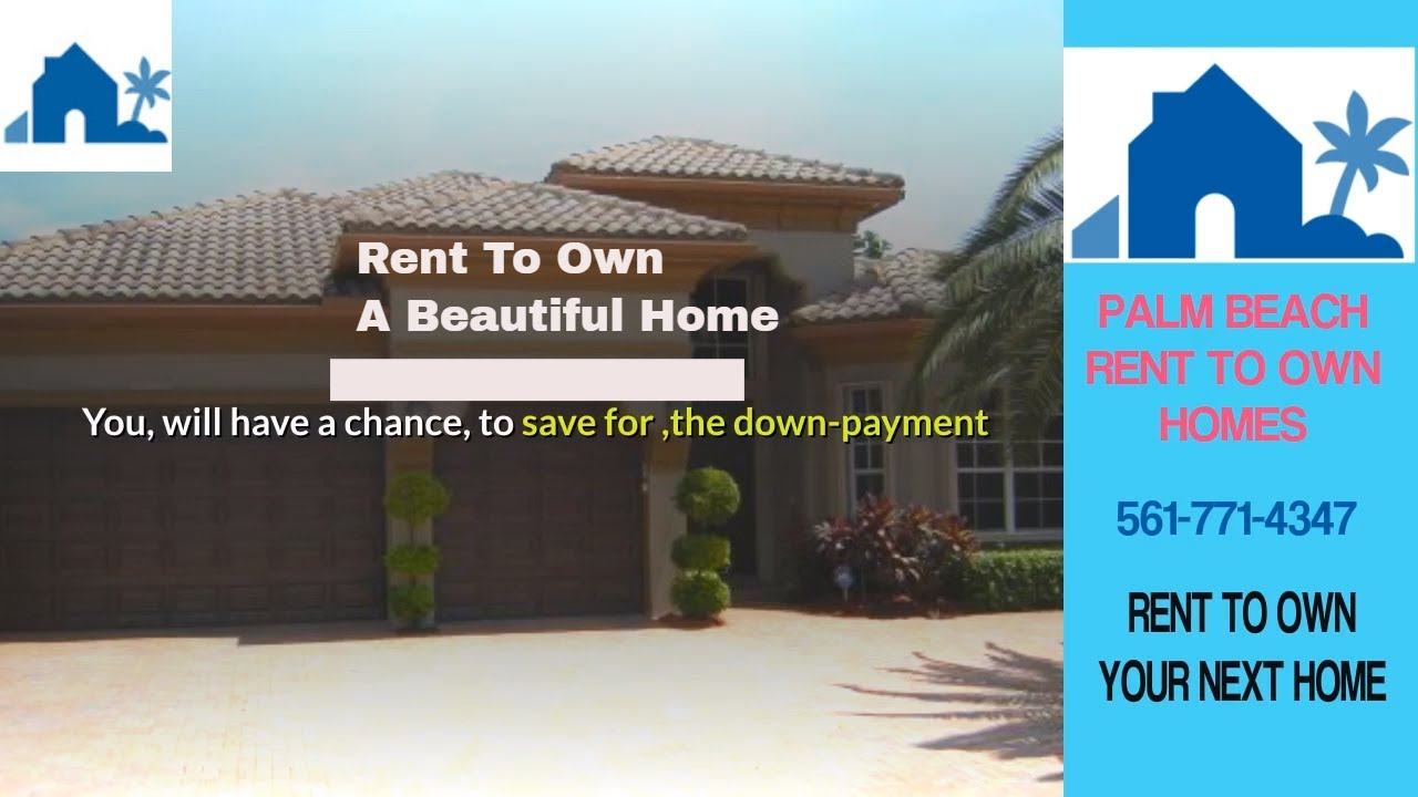 Thinking About Rent To Own Homes In Boca Raton See The Pros And Cons ☑️☑️☑️