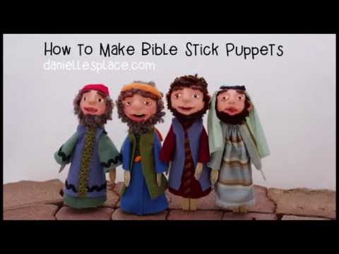 How To Make Stick Puppets