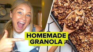 Customizable Homemade Granola With Alix • Tasty